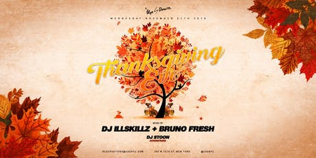Thanksgiving Eve at Up & Down tickets