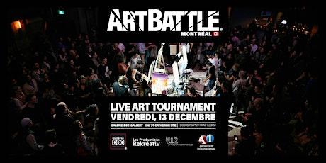Art Battle Montréal - 13 Decembre, 2019 billets
