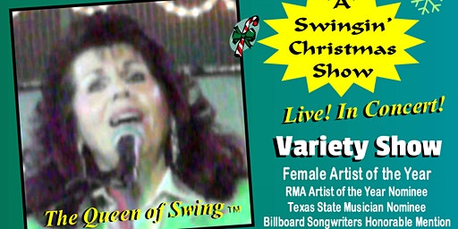 """A Swingin' Christmas Show"" starring the Queen of Swing Kelli Grant"