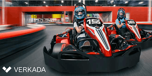 K1 Indoor Go-Kart Racing (Sponsored by Verkada)