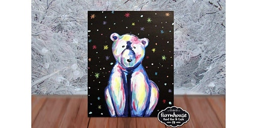 Step by Step Colorful Polar Bear (12-14-2019 starts at 8:00 PM)