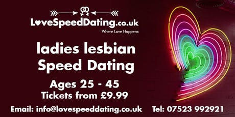 Lesbian Speed Dating Singles Night Ages 25 - 45 tickets