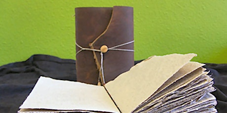 Leather Journal Class: •  Sunday, March 1; 12:00 noon to 4:00 pm  tickets