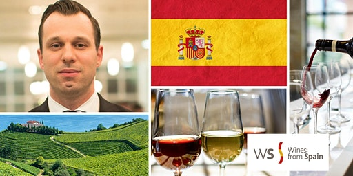Spanish Wine Tasting with Canadian Master Sommelier Pier-Alexis Soulière