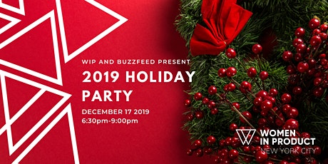 Women in Product NYC | 2019 Holiday Party tickets