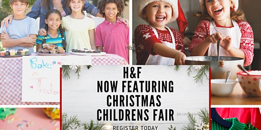 Vendors age 7-17 wanted for H&F Market Children's Fair at First Colony Mall