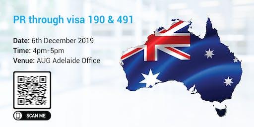 PR through visa 190 & 491 – What do SA graduates need to know?