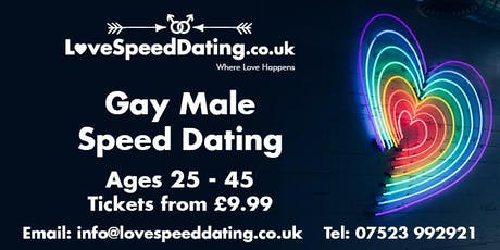 Gay Male Speed Dating Ages 25-45 tickets