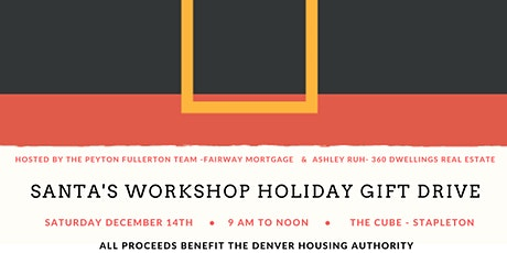 Santa's Workshop - Holiday Gift Drive event tickets
