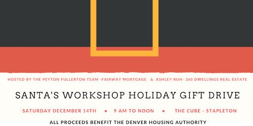 Santa's Workshop - Holiday Gift Drive event