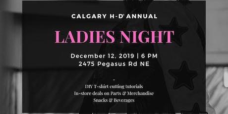 Calgary Harley Ladies Night tickets