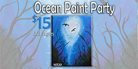 Ocean Paint Party 12/18/19 7 pm tickets