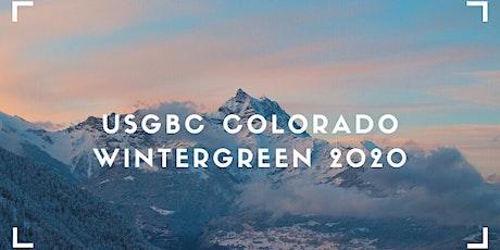 USGBC Colorado: Wintergreen 2020 tickets