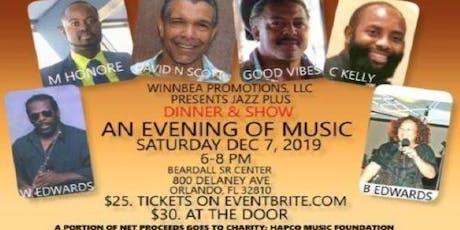 An Evening of Music tickets