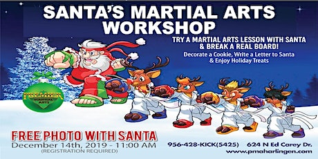 ***FREE SANTA'S MARTIAL ARTS WORKSHOP*** tickets