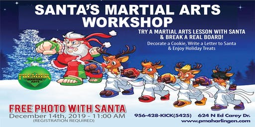 ***FREE SANTA'S MARTIAL ARTS WORKSHOP***