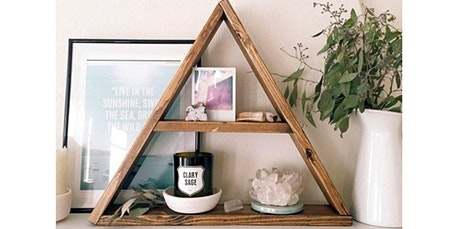 Woodworking Workshop: Triangle Shelf (06-15-2020 starts at 6:00 PM) tickets
