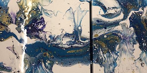 High Flow Acrylic Paint Night
