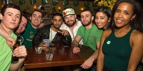 """The Unknown Bar Crawl """"St.Patrick's Day Edition"""" tickets"""