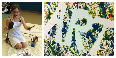 SPECIAL OFFER- 50% OFF! Spectacular Splatter Painting Workshop (5-12 Years) tickets