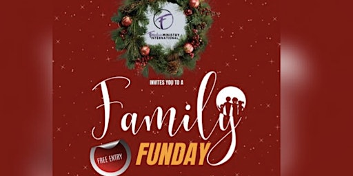 Christmas Family Funday Games, Activities, Fresh Cakes, Crafts.