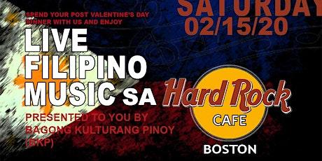 Live Filipino Music sa Hard Rock Cafe tickets
