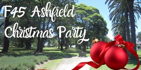 F45 Ashfield Christmas BBQ tickets