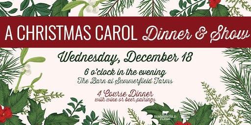 A Christmas Carol Dinner & Show