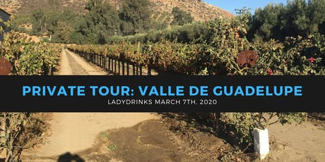 LADYDRINKS SAN DIEGO: PRIVATE TOUR OF VALLE DE GUADELUPE WINE REGION tickets