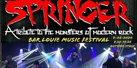 """Springer at 2nd Annual Bar Louie Music Festival """"Outside Stage"""" tickets"""