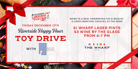 Riverside Happy Hour Toy Drive tickets