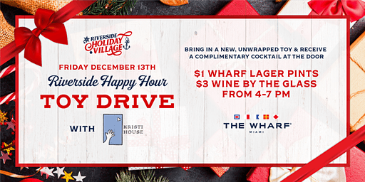 Riverside Happy Hour Toy Drive