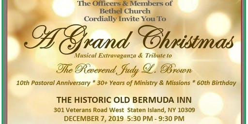 A Grand Christmas Celebration with a Tribute To The Reverend Judy L Brown
