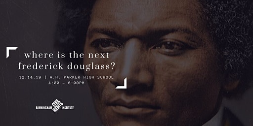Where is the Next Frederick Douglass?