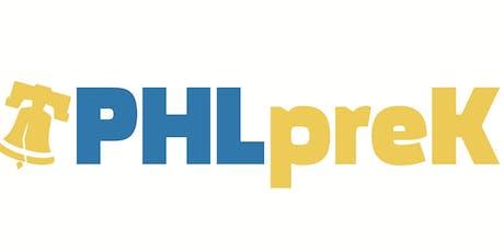 Solicitation for PHLpreK Providers FY21 tickets
