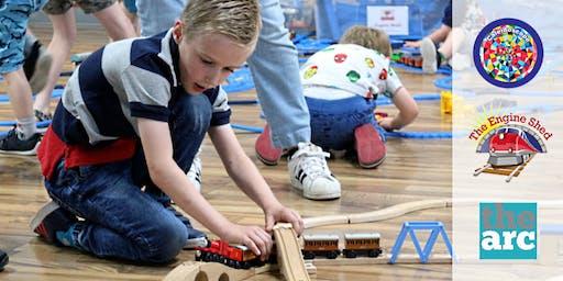 Engine Shed @ Caterham: train fun for autistic children