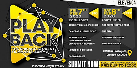 Playback: The Chicago Student Filmmaker Summit tickets