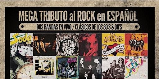MEGA TRIBUTO al ROCK en ESPAÑOL