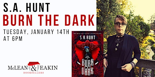Author Event with S.A. Hunt