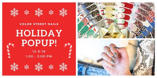 Color Street Holiday PopUp