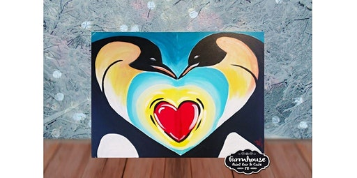Step by Step Penguin Heart (02-05-2020 starts at 6:00 PM)