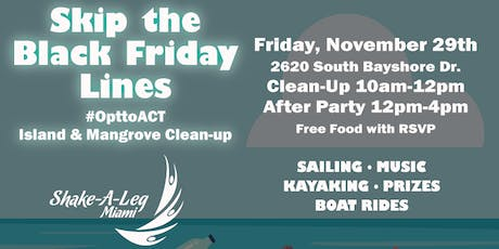 November Clean Up #OpttoAct tickets