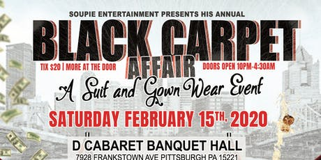 Black Carpert Event (Suit & Evening Gown Affair) tickets