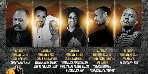 2020  Black History Month Lecture Series @ Everlasting Life