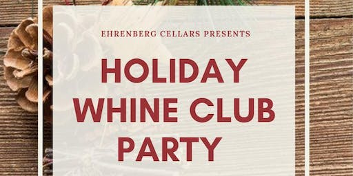 Holiday Whine Club Party