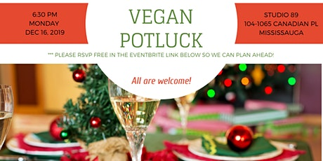 December Vegan Potluck tickets
