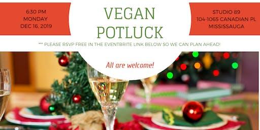 December Vegan Potluck