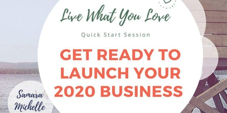 Quick Business Start Up Work Session tickets