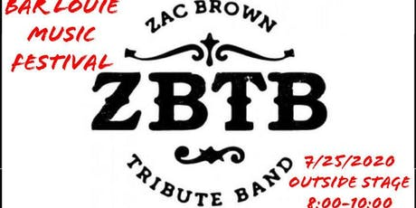 """ZBTB at 2nd Annual Bar Louie Music Festival """"Outside Stage"""" tickets"""