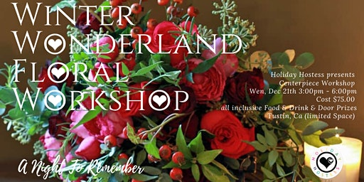 Winter Wonderland Floral Workshop